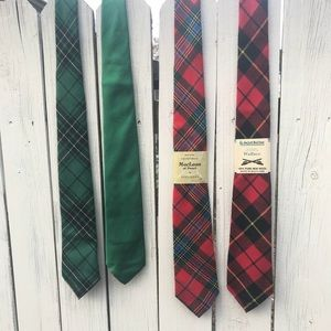 Other - Set of 4 genuine Tartan Scottish ties